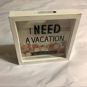 Accessories - Vacation Piggy Bank Coin Holder